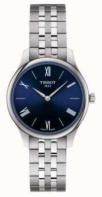 Tissot | tradición | pulsera de acero inoxidable para mujer | esfera azul | T0632091104800