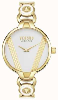 Versus Versace El | saint germain | acero inoxidable chapado en oro | esfera blanca | VSPER0219