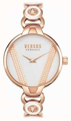 Versus Versace El | saint germain | acero inoxidable dorado rosa | esfera blanca VSPER0419