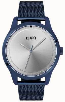 HUGO #move | pulsera de malla ip azul | esfera azul | 1530045