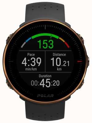 Polar El | ventaja m | monitor de frecuencia cardíaca | caucho negro | m / l 90080198