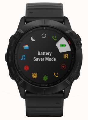 Garmin Fenix 6x pro gorilla glass | negro | reloj inteligente multideporte 010-02157-01