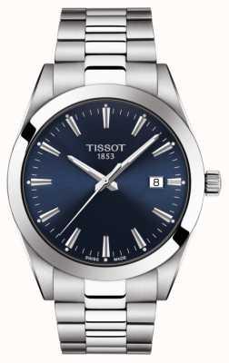 Tissot El | caballero | pulsera de acero inoxidable | esfera azul | T1274101104100