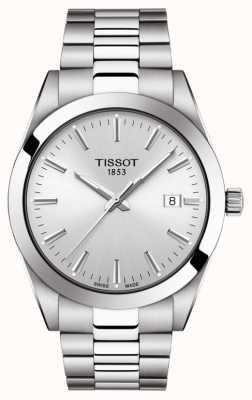 Tissot El | caballero | pulsera de acero inoxidable | esfera plateada | T1274101103100