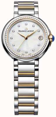 Maurice Lacroix Diamante para mujer Fiaba engastado en dos tonos de nácar FA1004-PVP23-170-1