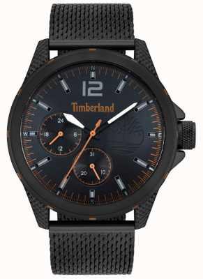 Timberland El | taunton para hombre | pulsera de malla negra | esfera negra | 15944JYB/02MM