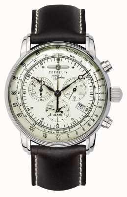 Zeppelin 100 años | cuarzo suizo | reloj cronógrafo 8680-3