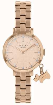 Radley Reloj Selby Street chapado en oro rosa RY4398