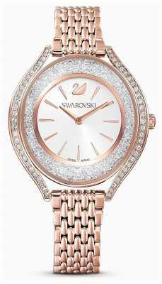 Swarovski El | mujeres | aura cristalina | pulsera de oro rosa | 5519459