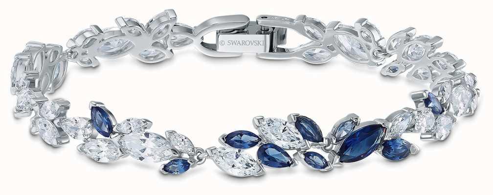 Swarovski El | pulsera louison | cristales azules y blancos | 5536548