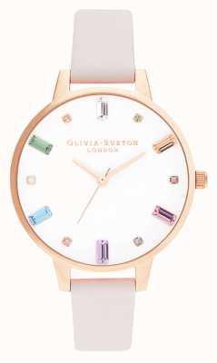 Olivia Burton | mujeres | flor del arco iris | oro rosa | OB16RB22