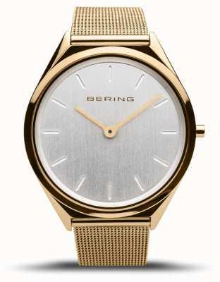 Bering El | unisex | ultra delgado | pulsera de malla de oro | 17039-334