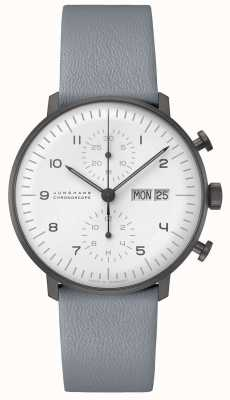 Junghans Cronoscopio Max Bill | 40 mm blanco y negro 027/4008.05