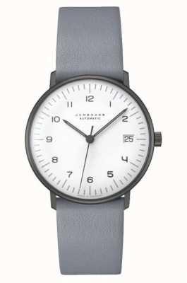 Junghans Max factura automática | 34 mm en blanco y negro 027/4006.04
