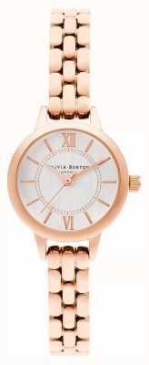 Olivia Burton | país de las maravillas | mini dial | pulsera de oro rosa | OB16MC51