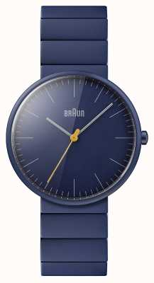 Braun Hombres | clásico | pulsera de cerámica azul | esfera azul BN0171NVNVG
