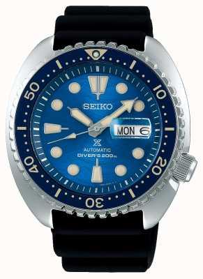 Seiko Prospex caballeros mecánicos | salvar el océano | caucho negro SRPE07K1