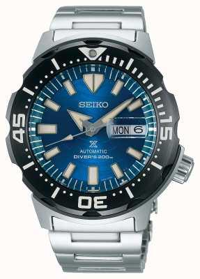 Seiko Prospex caballeros mecánicos | salvar el océano | esfera azul SRPE09K1