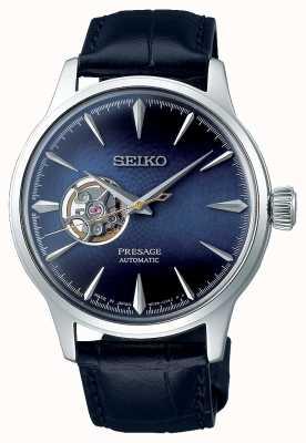 Seiko Presagios mecánicos para caballeros | piel de becerro azul | SSA405J1