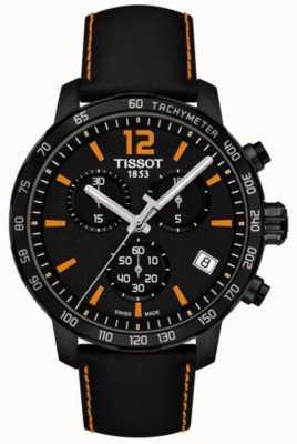 Tissot T-sport quickster cronógrafo negro y naranja T0954173605700