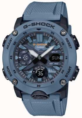 Casio Reloj para hombre g shock carbon core camuflaje GA-2000SU-2AER