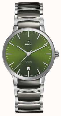 Rado Centrix esfera automática de cerámica verde de alta tecnología R30010312