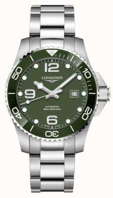 Longines Hydroconquest 43mm | esfera verde | acero inoxidable L37824066