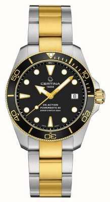 Certina Ds action diver | 38 mm | powermatic 80 | Dos tonos C0328072205100