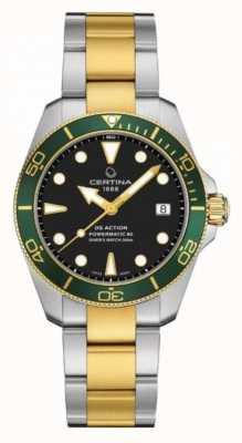 Certina Ds action diver | 38 mm | powermatic 80 | Dos tonos C0328072205101