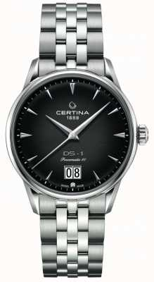 Certina Ds-1 gran cita | powermatic 80 | pulsera de acero inoxidable C0294261105100