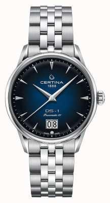 Certina Ds-1 gran cita | powermatic 80 | pulsera de acero inoxidable C0294261104100