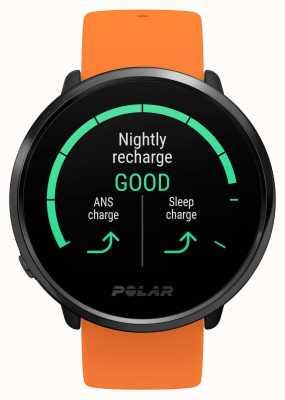 Polar El | encender | correa de caucho naranja | monitor de ritmo cardíaco gps | m / l 90081718
