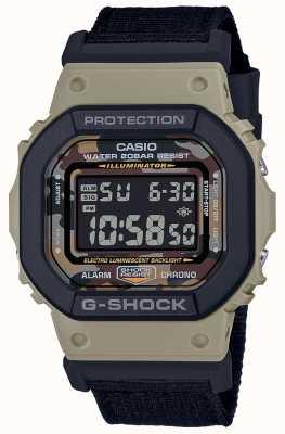 Casio G-shock | correa negra | digital | cronómetro DW-5610SUS-5ER