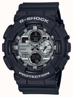 Casio El | hora mundial g-shock | caucho negro | esfera negra GA-140GM-1A1ER