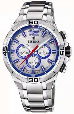 Festina Chrono bike 2020 reloj deportivo azul F20522/1