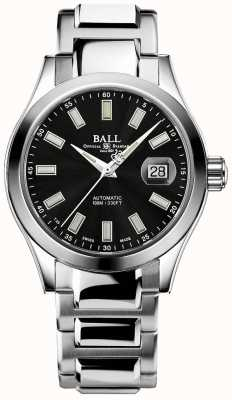 Ball Watch Company Hombres | ingeniero iii | marvelight | acero inoxidable | esfera negra NM2026C-S23J-BK