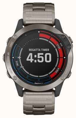 Garmin Zafiro Quatix 6 | reloj gps marine gris correa titanio 010-02158-95