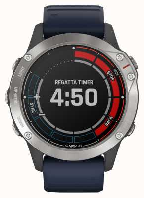 Garmin Quatix 6 | capitan blue band gps reloj marino 010-02158-91
