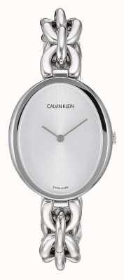 Calvin Klein El | declaración de las mujeres | pulsera de cadena de acero inoxidable | K9Y23126
