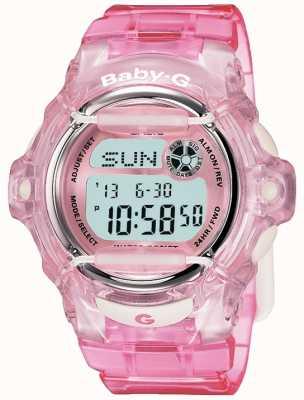 Casio Pantalla digital baby g correa rosa BG-169R-4ER
