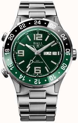 Ball Watch Company Roadmaster marine gmt edición limitada DG3030B-S2C-GR