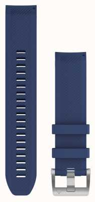 Garmin Correa de caucho azul marino quickfit 22 marq 010-12738-18