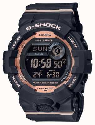 Casio G-shock | escuadra g | correa de caucho negro | Bluetooth GMD-B800-1ER