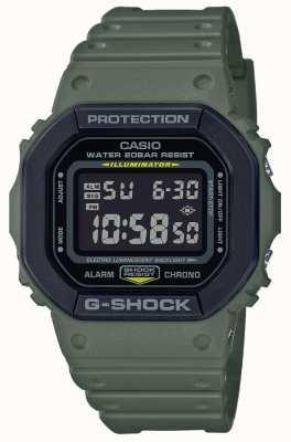 Casio G-shock | correa de goma verde | Pantalla digital DW-5610SU-3ER