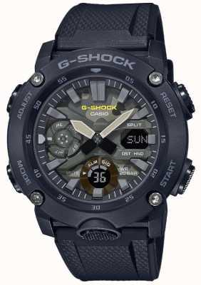 Casio G-shock | correa de caucho | dial de camuflaje GA-2000SU-1AER