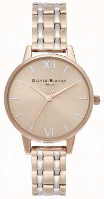 Olivia Burton El | la colección inglaterra | pulsera de acero en dos tonos | OB16EN02