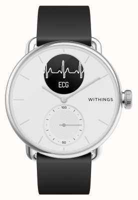Withings Scanwatch 38mm blanco - reloj inteligente híbrido con ecg HWA09-MODEL 1-ALL-INT