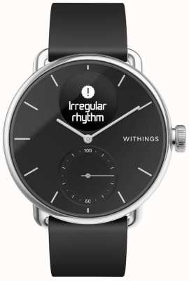 Withings Correa de silicona para reloj de escaneo 38 mm - negro HWA09-MODEL 2-ALL-INT