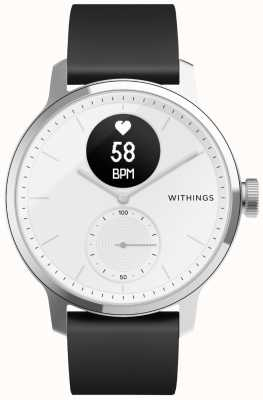 Withings Reloj de escaneo 42mm - blanco HWA09-MODEL 3-ALL-INT