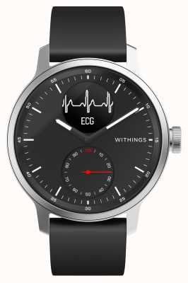 Withings Scanwatch 42mm negro - reloj inteligente híbrido con ecg HWA09-MODEL 4-ALL-INT